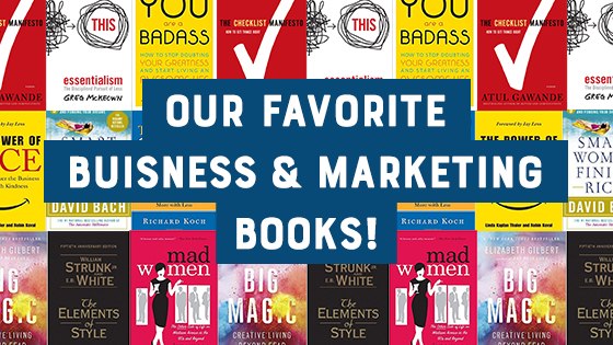 5 Favorite Business & Marketing Books