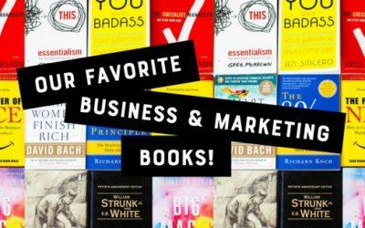 5 Favorite Business & Marketing Books