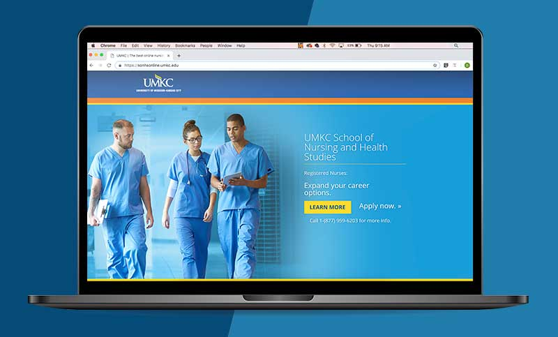 Online Advertising Case Study: Driving New Student Applications for UMKC